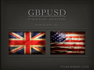 GBPUSD LONDON OUTLOOK MARCH 30