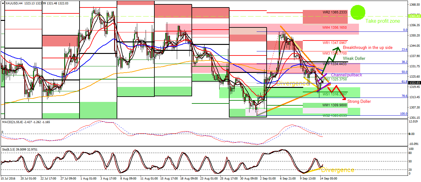 Forex gold forecast today