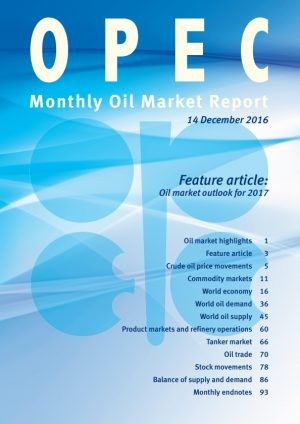 OPEC's December Monthly Oil Market Report – Highlights